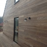 Thermo houten gevel
